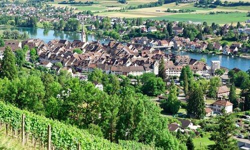 Rhein-fall-Stein-am-Rhein-Insel-Mainau - full day tour from Zurich