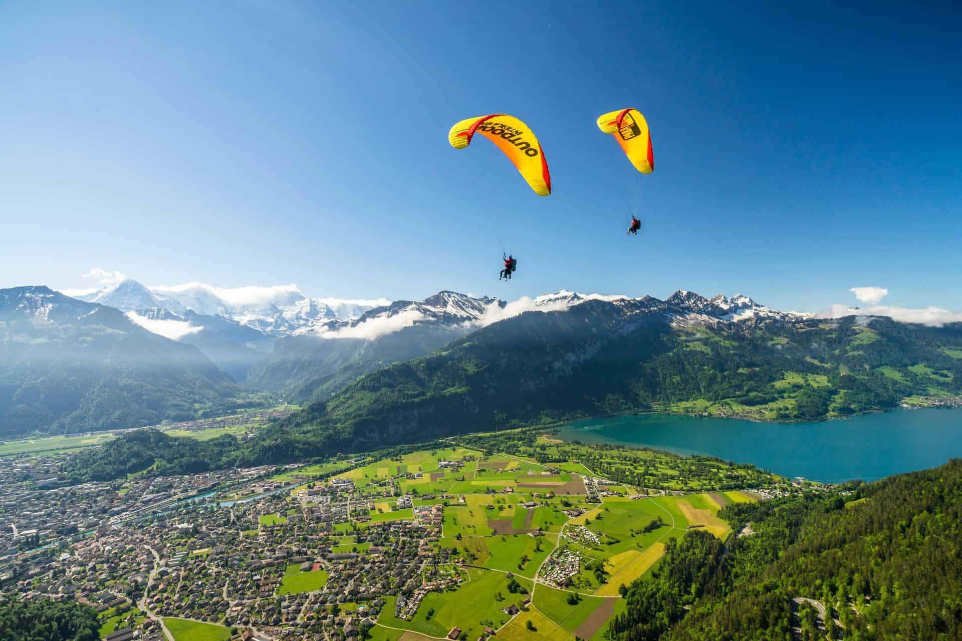 Best of Switzerland Paragliding